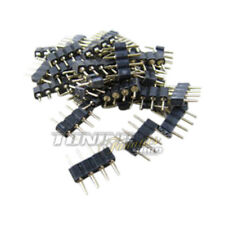 10x RGB Strip LED SMD PCB Cable Plug Connector Adapter for bar S