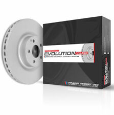 Power Stop x2 Rear Disc Brake Rotors Set OE Replacement Grade Rotor Pair Brakes