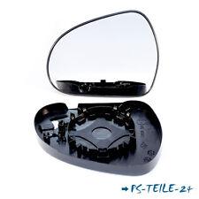 Spiegelglas für PEUGEOT 308 2007-2011 links sphärisch mit Platte fahrerseite