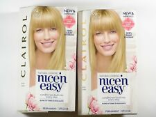 CLAIROL NICE N EASY Permanent Hair Color 9A LIGHT ASH BLONDE 2 boxes