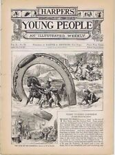 Harper's Young People, March 22, 1881, Roller Skating
