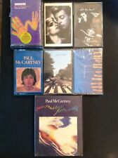 PAUL Mc CARTNEY 8 NOS Cassette PAUL IS LIVE, PRESS TO PLAY, II, OFF THE GROUND