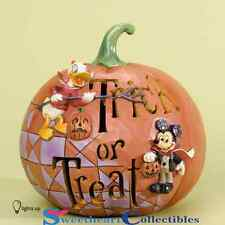 Jim Shore Disney Halloween Trick Or Treat With Micky And Donald 4033277