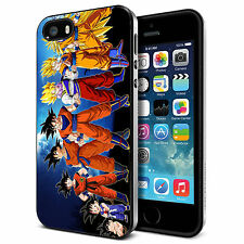 Goku Dragon Ball Z Kamehame for iPhone 4/4S 5/5S 5C 6 6S Plus Hard Case tr1