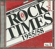 Audio Rock Times plus vol. 01 1955-1958 CD Various AUDIOPHILE