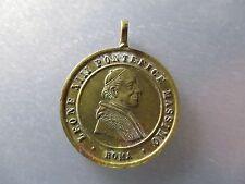 MEDALLA RELIGIOSA PAPA LEON XIII (1873- 1903) - 50 AÑOS SACERDOCIO 1888