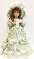 Victorian Porcelain Doll- Limited Edition Collectible Porcelain Dolls New