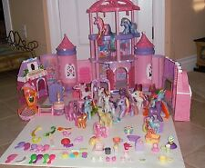 HUGE LOT OF MY LITTLE PONY COLLECTORS ITEMS CASTLE Play Sets &  Ponies