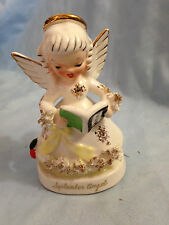 Vintage NAPCO SEPTEMBER ANGEL Figurine Student or Teacher A1369