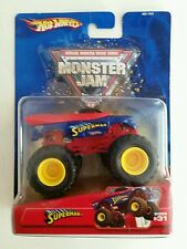 HOT WHEELS SUPERMAN #31 1:64 MONSTER JAM MONSTER TRUCK-METAL 2005