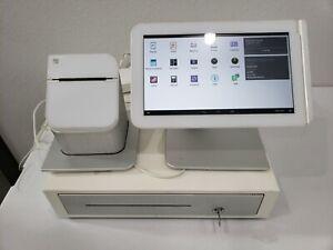 Clover POS C100 & P100 System Printer Power Cord + Cash RegisterTested & Working