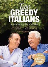 Two Greedy Italians : Season 1-2 (DVD, 2013, 4-Disc Set)
