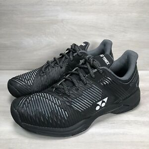 Yonex Black Sonicage 2 Tennis Shoes Unisex All Court Racquet Size Men6/Women7.5