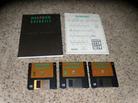 "Maximum Comanche Overkill PC IBM 3.5"" floppy disks with manual near mint"