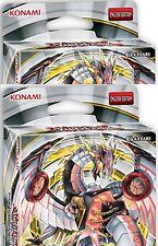 2  X Cyber Dragon Revolution Sealed Structure Starter DECKS 40-Card Set! YuGiOh