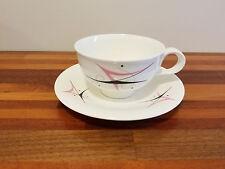 Hall Craft, Eva Zeisel, Harlequin, Tea Cup And Saucer's.