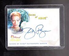 Star Trek Woman of Voyager SA1 Jeri Ryan auto card