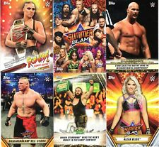 2019 Topps WWE SummerSlam COMPLETE MASTER SET 179 Cards w/ Inserts RONDA ROUSEY+