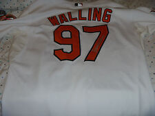 Denny Walling Baltimore Orioles Game Used/Issued Jersey