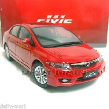 1/18 Scale Honda Civic 8th Generation Red DieCast Toy Car Model
