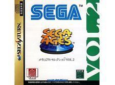 ## SEGA SATURN - Sega Ages Memorial Selection VOL.2 (JP Import) - TOP ##