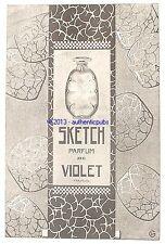PUBLICITE PARFUM VIOLET SKETCH FLACON ART DECO DE 1924 FRENCH AD PERFUME PUB