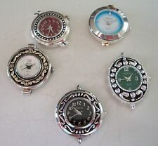 WOMEN'S SET OF 5 ASSORTED WATCH FACES FOR BEADING OR OTHER USE