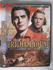BRIGHAM YOUNG, 1940, rare film, Fox DVD 2003, Tyrone Power,Vincent Price, Jagger