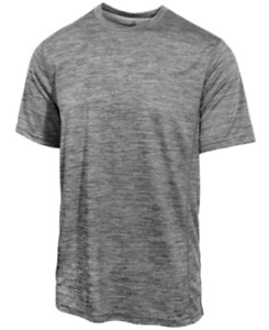 Id Ideology Men's Mesh T-Shirt in Grey Heather, Size XX-Large