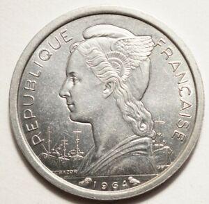 COMORES : SUPERBE 1 FRANC 1964