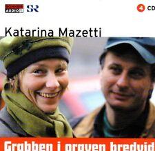 4 CD Hörbuch Katarina Mazetti SCHWEDISCH Grabben i Graven Bredvid, svenska