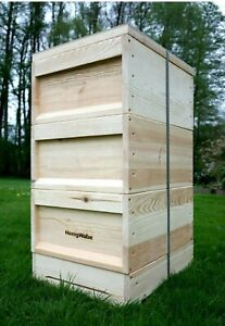 Zander Bienen Beute nach Dr.Liebig System + 36 Zander Rähmchen