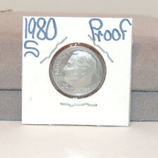 1980s Proof Roosevelt Dime 10c USA coin (11514-2b)