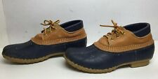VTG WOMENS L.L. BEAN HUNTING BLUE SHOES SIZE 8