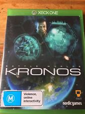 BATTLE WORLDS KRONOS XBOX ONE ORIGINAL AUS PAL VGC COMPLETE