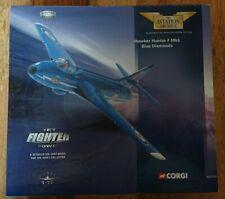 """Corgi AA32701 Hawker Hunter F Mk6 """"BLUE DIAMONDS"""" Ltd Edit No 2361 of 4000"""