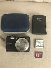Fujifilm FinePix F Series F100fd 12.0MP Digital Camera - Black