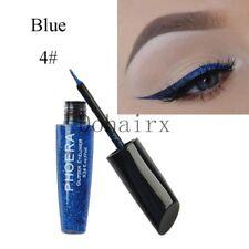 Waterproof Shimmer Eyeshadow Glitter Colorful Liquid Eyeliner Metallic Cosmetics A4