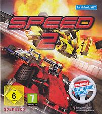 Nintendo Wii Bundle pack SPEED 2 + WHEEL new italian Pal