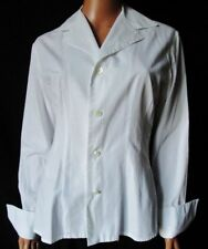 ***EQUIPMENT CAMICIA SHIRT TG.M in COTONE 100% Colore bianco Made in France
