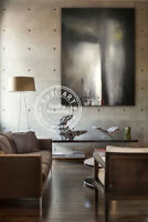 GUDI-Huge Hand Drawing Fashion Modern Abstract Oil Painting Home Deco Canvas Art