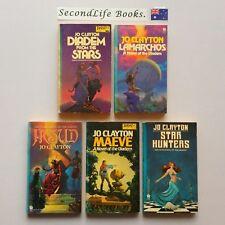 THE DIADEM Series Books 1-5 ~ Jo Clayton. SCI FI FANTASY. 1st ED DAW (1977-80).