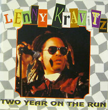 """LENNY KRAVITZ """"TWO YEAR ON THE RUN""""  rare cd live mint"""