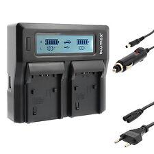 BATTERIA Caricabatterie Dual Charger per Sony np-fv30 np-fv50 np-fv70 np-fv100 | 90305