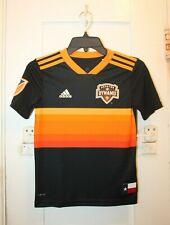 ADIDAS Houston Dynamo MLS Soccer #20 A.J. De La Garza Youth Boys Jersey Small