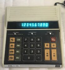 Royal D-120 Vintage Calculator Tested With AC Power Adapter Ships Free