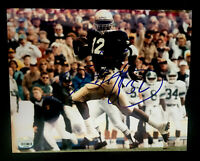 Ricky Watters Notre Dame Fighting Irish Autographed Signed Photo Fanatics COA