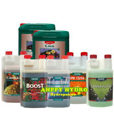 Canna Coco 5 Litre A+B Complete Range Additive Nutrient Bundle Kit Hydroponics