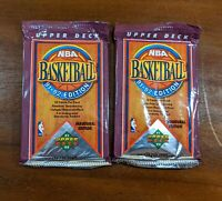 1991-92 Upper Deck Basketball 2 Pack Lot! Random Holograms.