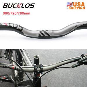 Aluminum MTB Road Bike Flat Riser Bar 620mm 5//7//15//45° Handlebar stem set Black
